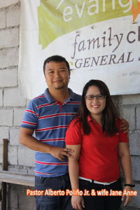 Pastor Alberto Poliño and wife, Sis. jane Ann