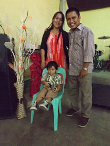 Pastors Tony and Liza and son, Asher
