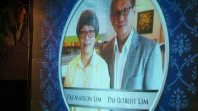 Segment of the video, 'The Heritage' dedicated to pay tribute for the lives of Pas Robert and Marion Lim and their significant contribution to EFC Cebu