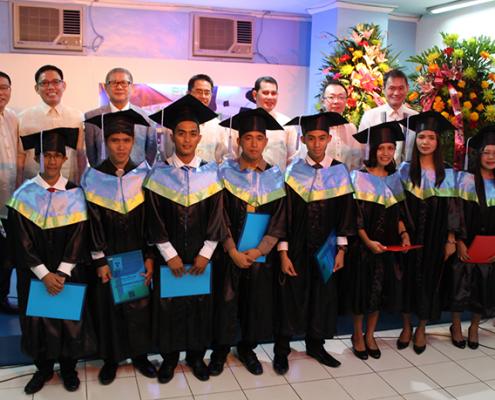 ECME graduates with the JECPP Spiritual Leaders