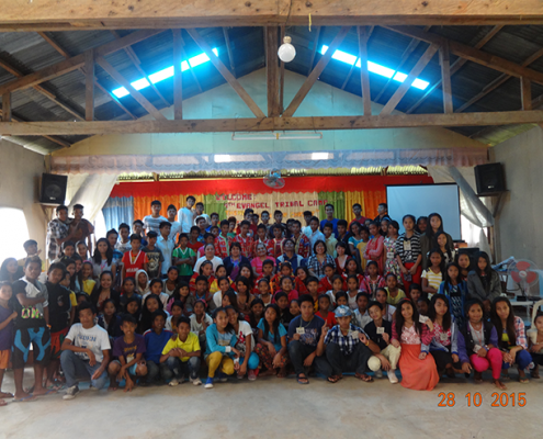 4th Tribal Youth Camp delegates