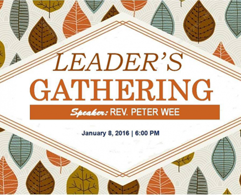 leaders' gathering