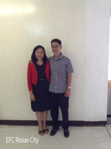 Pastor Bernard and Antonette de Jesus